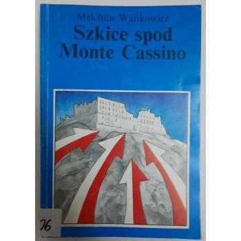 Szkice spod Monte Cassino...