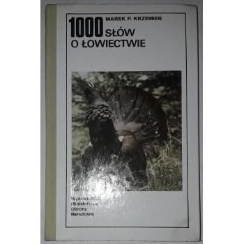 1000 słów o łowiectwie...