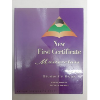 New First Certificate...