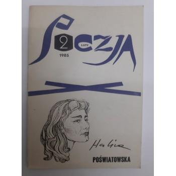 Poezja Luty 1985 Poświatowska