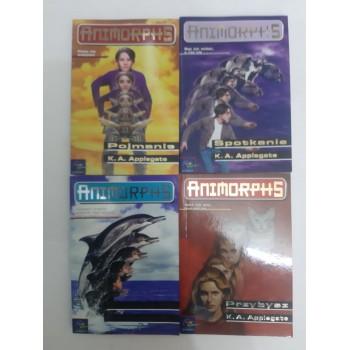 Animorphs zestaw 4 szt...