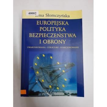 Europejska polityka...